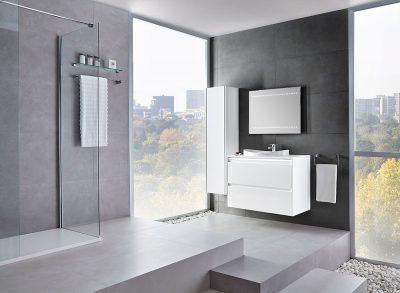 Reforma baño minimalista